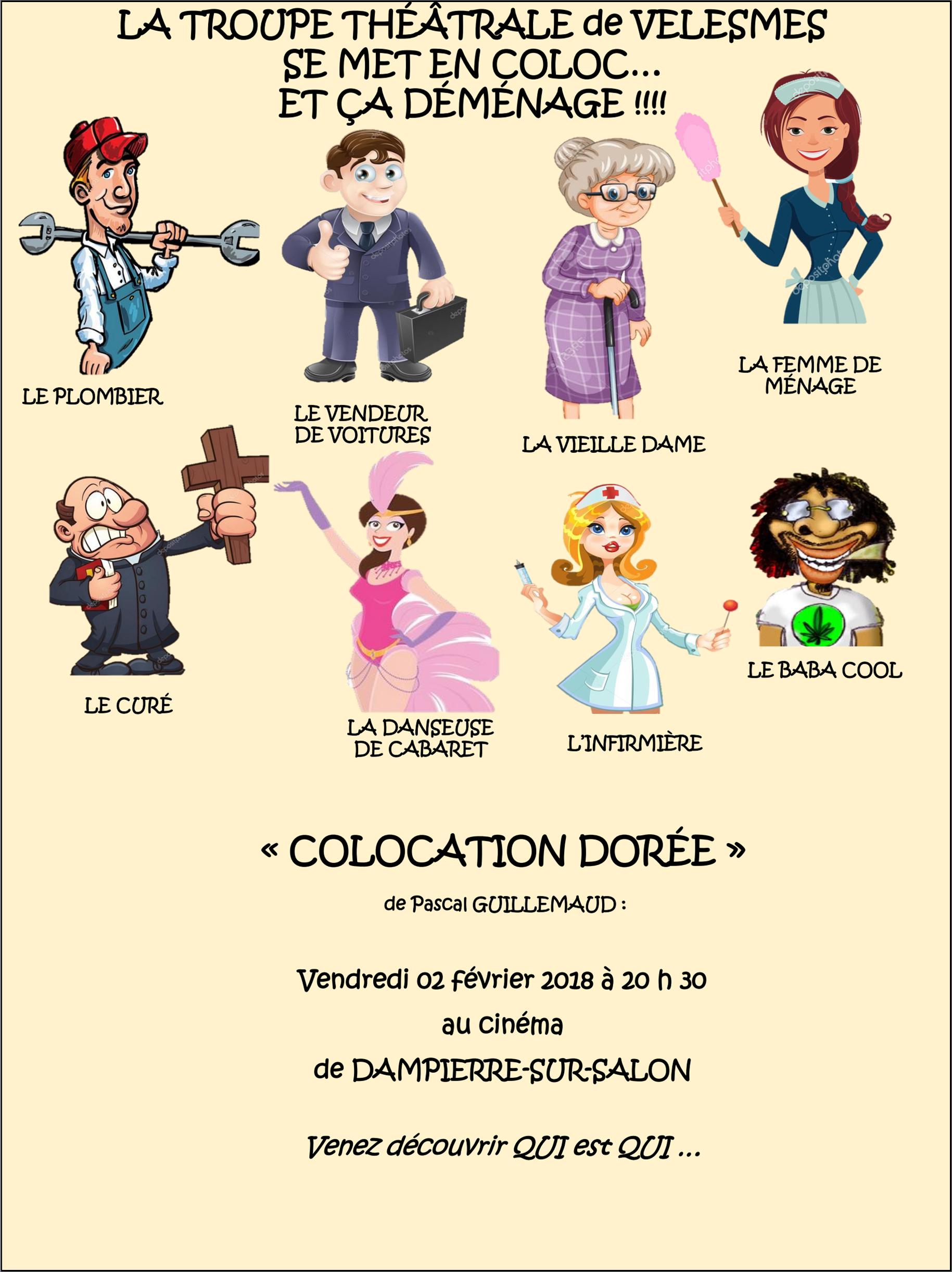 colocation doree